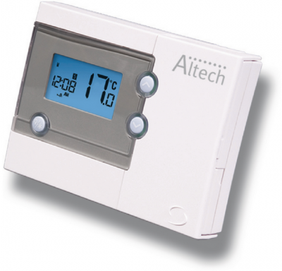 Altech thermostat d ambiance 2 fils programmable 7j althc004