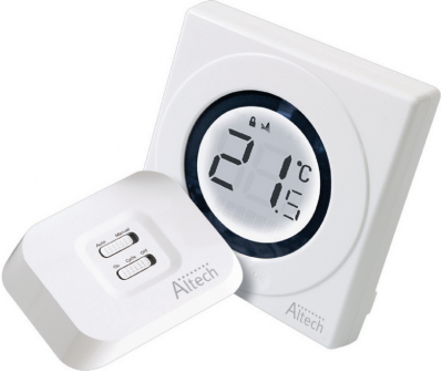 Altech thermostat electronique tactile radio althc320rf
