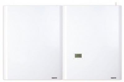 Chaudiere frisquet hydromotrix condensation visio 45 kw gaz murale avec ballon exterieur upec 120l