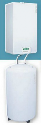 Chaudiere gaz condensation atlantic idra condens system 502028 vr 19 7kw ballon