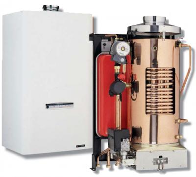 Chaudiere gaz frisquet basse temperature hydromotrix tradition 23kw mixte a semi accumulation