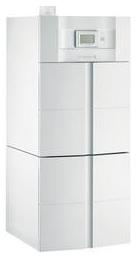 Chaudiere gaz twineo egc 1729 au sol condensation avec preparateur d eau chaude sanitaire 100l de dietrich