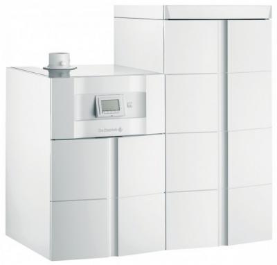 Chaudiere gaz twineo egc 25 b 200 sslau sol condensation avec preparateur d eau chaude sanitaire solaire 200l de dietrich