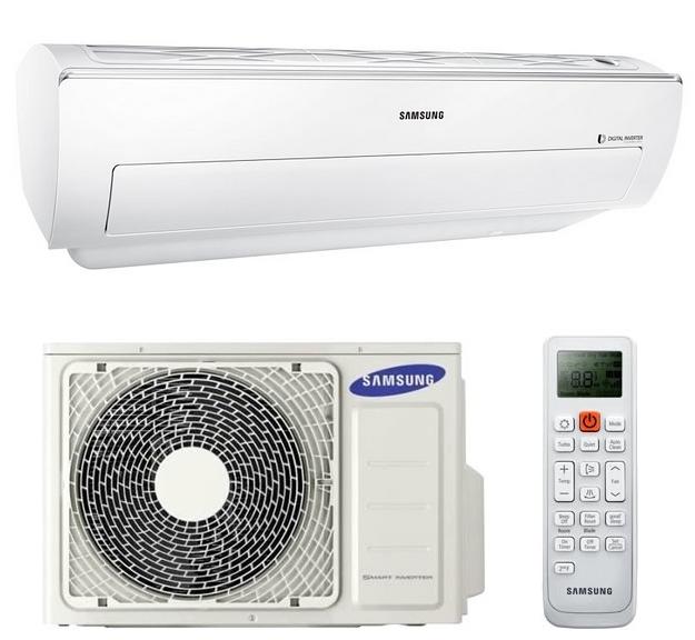 Climatisation console murale haute fixe r versible monosplit samsung ar18kswsawkneu - Console climatisation reversible ...