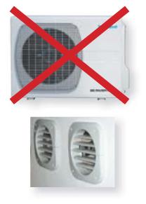 climatiseur fixe mural sans groupe ext rieur r versible technibel inverter r ve 301 i. Black Bedroom Furniture Sets. Home Design Ideas