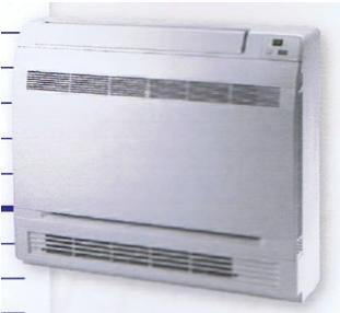 Console murale basse fixe reversible pour groupe multi split ncp mfrig 25 ami c