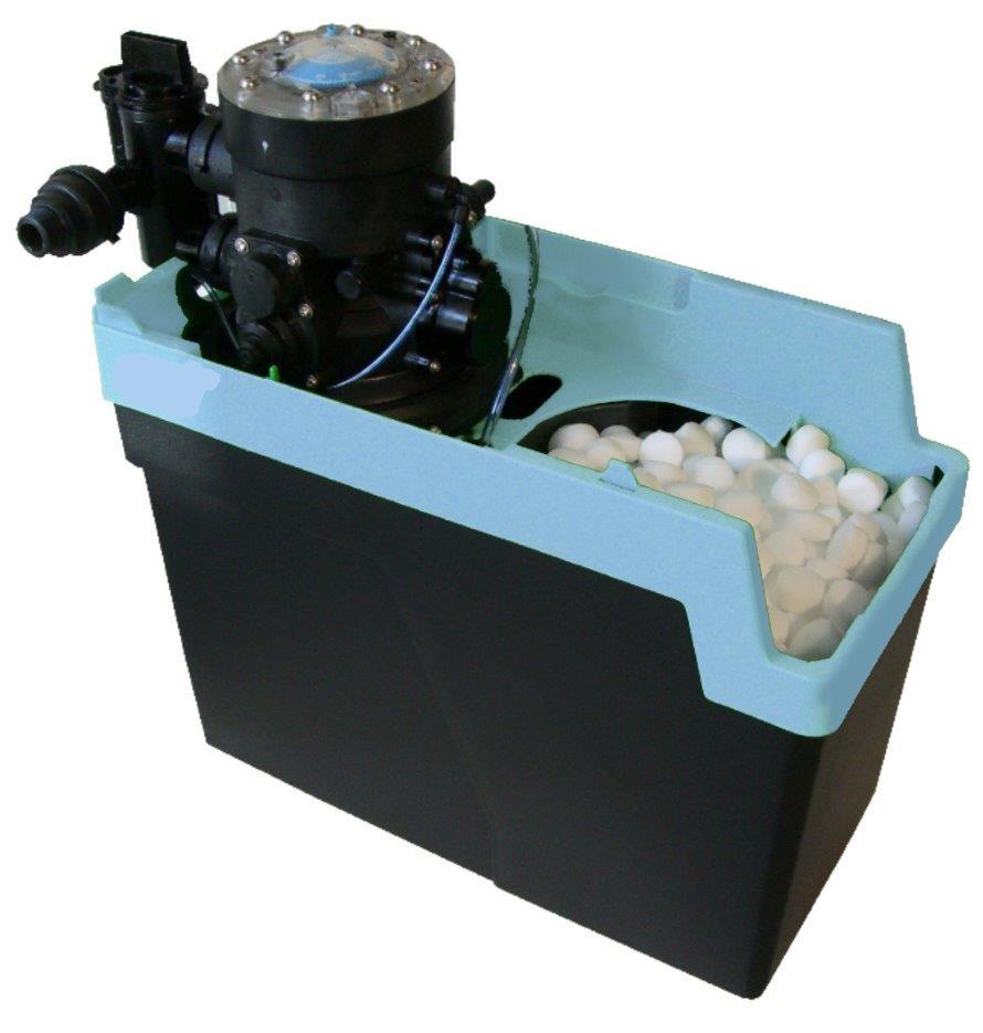 adoucisseur d 39 eau compact 3 2l kdf volum trique monobloc derudder simplex hydro m canique. Black Bedroom Furniture Sets. Home Design Ideas