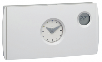 Hager thermostat d ambiance 2 fils programmable hebdomadaire 56571