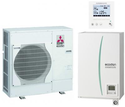 Pac air eau bibloc basse temperature ecodan split hydrobox mitsubish 6kw