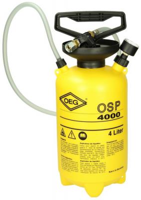 Pompe d aspiration fioul a vide oeg osp4000 avec cuve de recuperation 4 litres